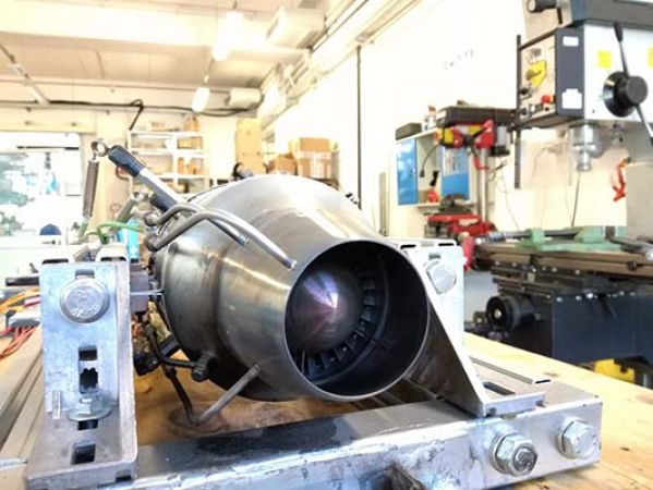 Gas Turbine Test BED-UniFI